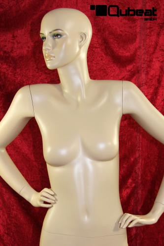 Qubeat Weibliche Schaufensterpuppe mit H/änden in der H/üfte